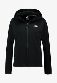 Nike Sportswear - Zip-up hoodie - black/white - 4