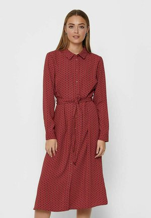 BARCELONA  - Shirt dress - cowhide