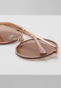 Jimmy Choo - LENI - Sunglasses - gold coloured/pink - 4