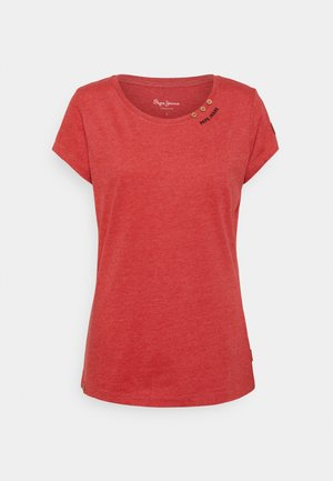 RAGY - T-shirt - bas - winter red