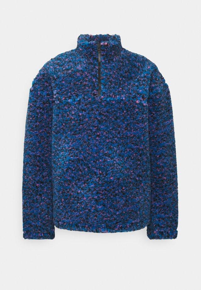 IVAN PILE HALFZIP UNISEX - Kurtka zimowa - bright blue