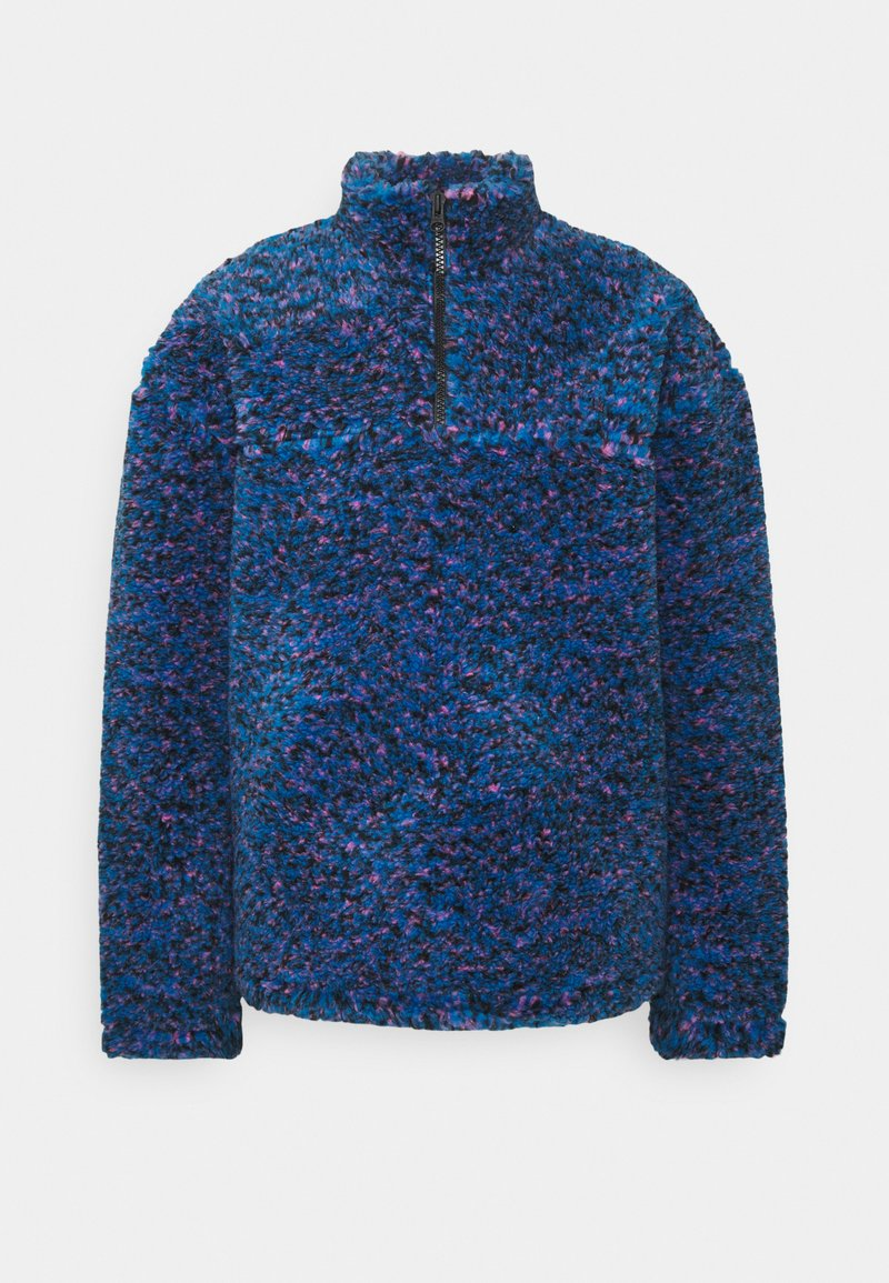 Weekday - IVAN PILE HALFZIP UNISEX - Winter jacket - bright blue