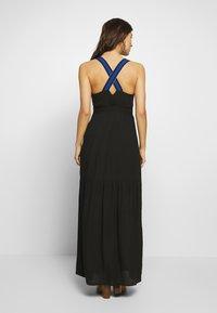 Desigual - VEST LISBOA - Robe longue - black - 2