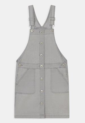 BUTTON FRONT SKIRTALL - Denim dress - grey denim