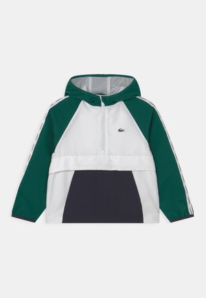 WINDBREAKER TAPING UNISEX - Training jacket - vert/blanc/bleu marine