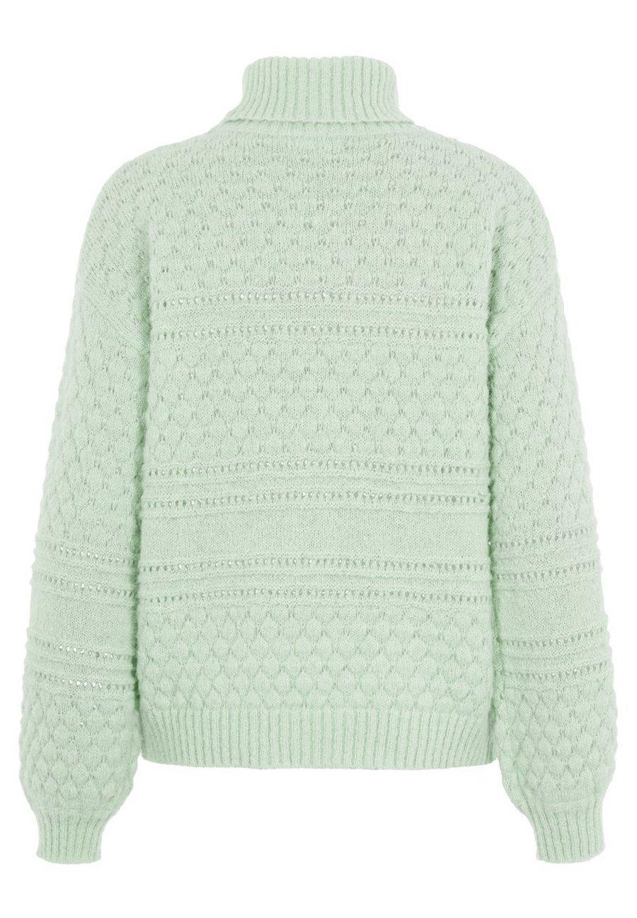 PIECES trui groen | wehkamp
