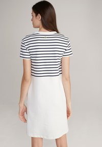JOOP! - TRINA - Jersey dress - navy/weiß - 1