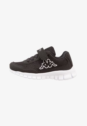 FOLLOW UNISEX - Sports shoes - black/white