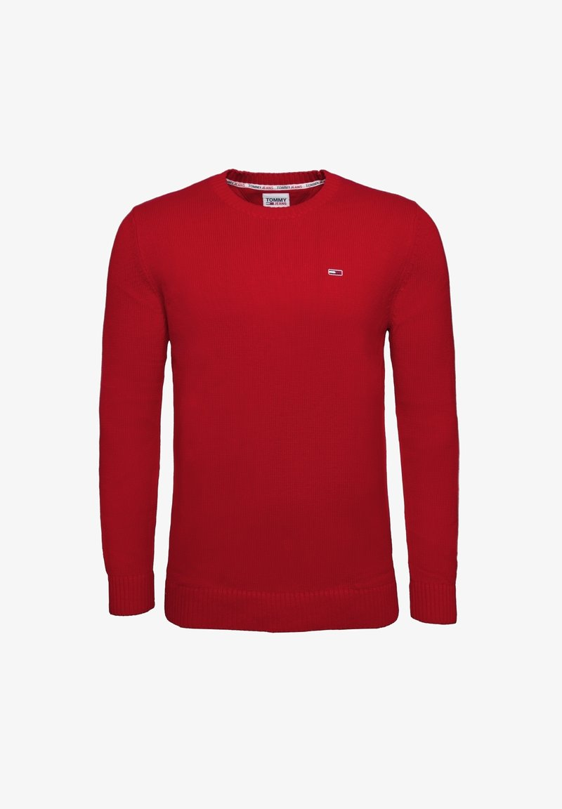 Tommy Jeans - ESSENTIAL  - Pullover - deep crimson
