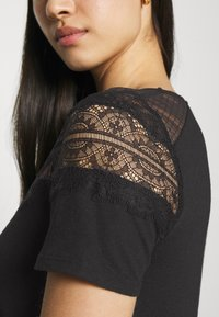 Morgan - DIETER - Basic T-shirt - noir - 4