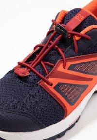 Salomon - SENSE - Hiking shoes - evening blue/red dahlia/cherry tomato - 2