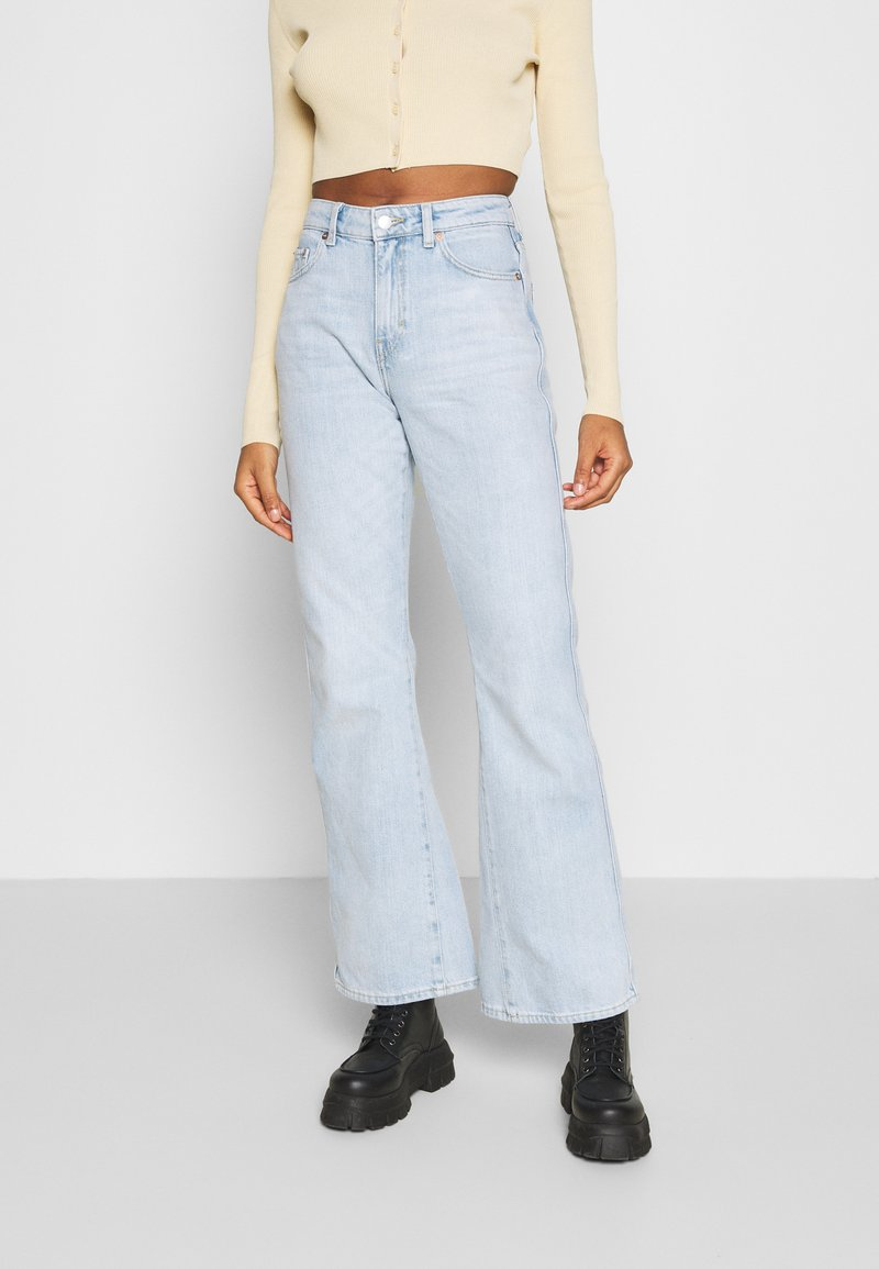 Weekday - SWAY JEANS - Flared Jeans - lula blue