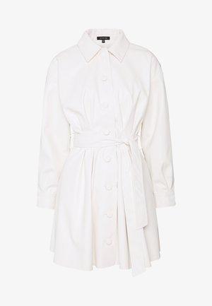 THE MINI - Shirt dress - parchment