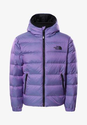 Gewatteerde jas - sweet violet/iridescent