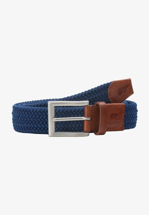 CLASSIC - Braided belt - royal blue