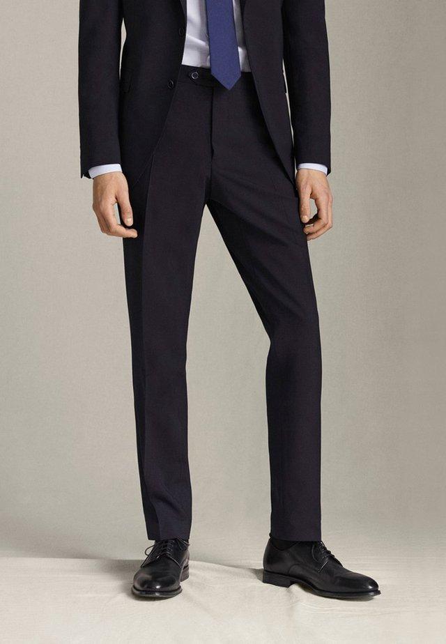 SLIM-FIT - Spodnie garniturowe - blue