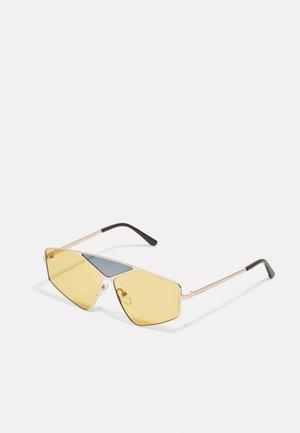 UNISEX - Sunglasses - sand/gold-coloured