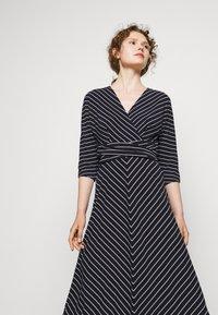 Lauren Ralph Lauren - MATTE DRESS - Jersey dress - navy/colonial - 3