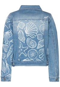 Desigual - CHAQ CEREZAS - Denim jacket - jeans claro - 1