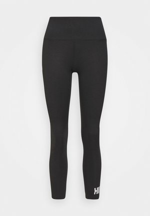 STUDIO PEACHED CORE LEGGING - Medias - black