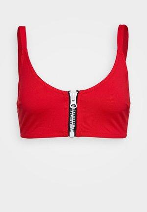 BALCONET BRA - Bikini top - red