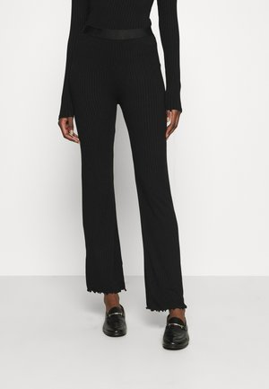 SOLID LONNIE - Kalhoty - black