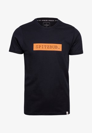 JOHANN - T-shirt print - black