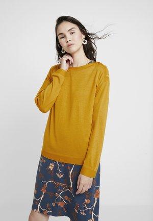 CREW NECK  - Jumper - mustard yellow