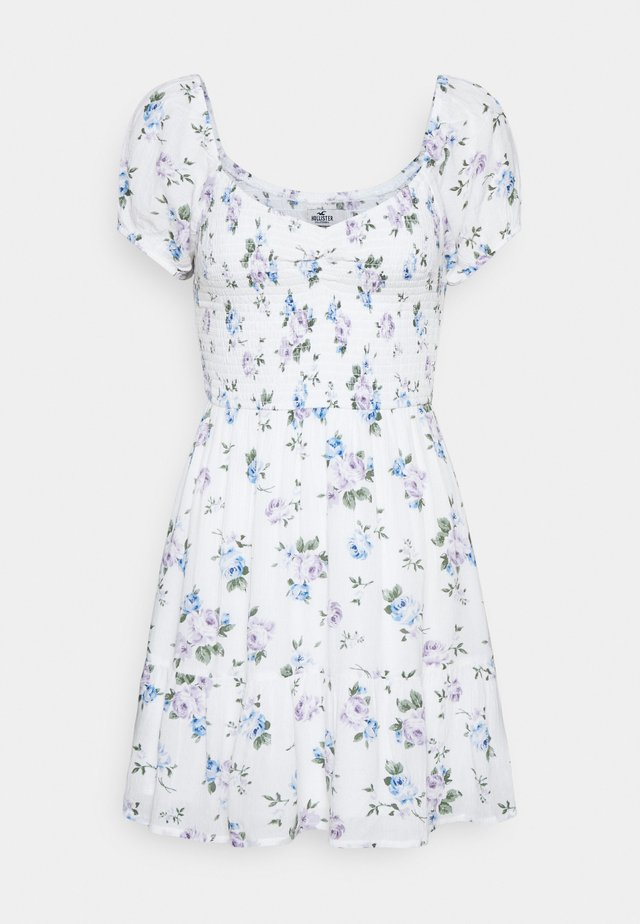 SHORT DRESS - Vardagsklänning - white floral