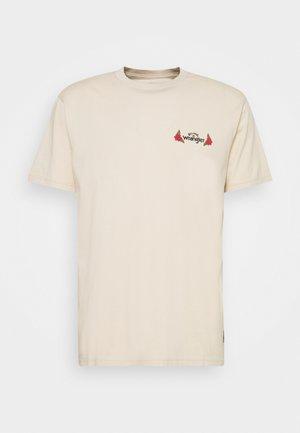 SAGUARO - T-shirt imprimé - natural