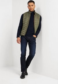 camel active - Slim fit jeans - dark blue denim - 1