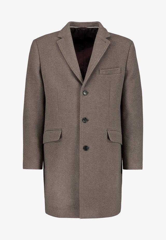 SIGNATURE EPSOM - Classic coat - beige