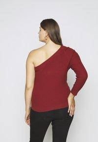 Glamorous Curve - ONE SHOULDER - Long sleeved top - cinnamon - 2