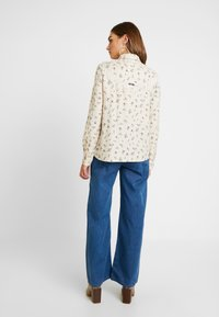 Superdry - JOLENE WESTERN - Button-down blouse - pink print - 2