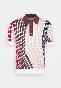 POLKA DOT - Polo shirt - brown