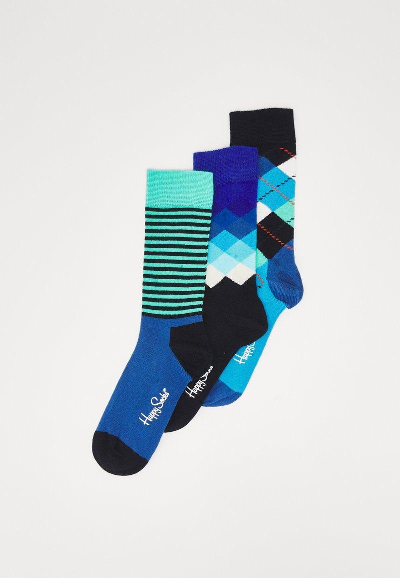 Happy Socks - CLASSICS 3 PACK UNISEX - Socks - multi blues