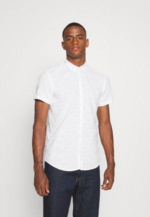 PRINTED SHORT SLEEVE  - Hemd - white