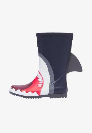 Botas de agua - marineblau hai