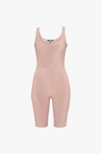 SLINKY SCOOP NECK UNITARD