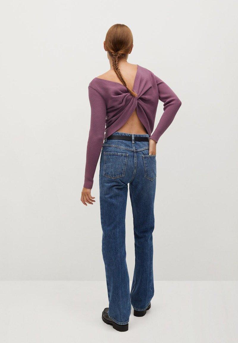 Mango MARGOT - Strickpullover - lavender/lila ix4zZW