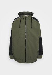 Blend - OUTERWEAR - Summer jacket - dusty olive - 0