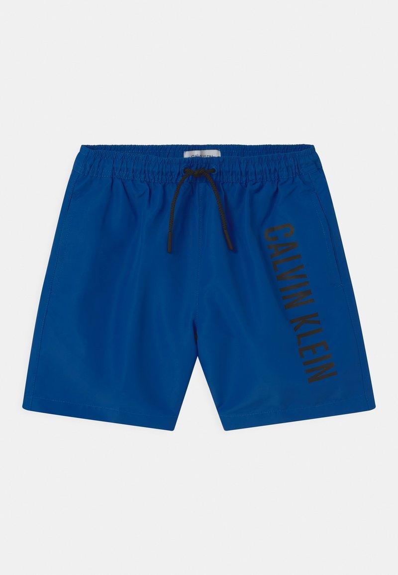 Calvin Klein Swimwear - MEDIUM DRAWSTRING - Swimming shorts - bobby blue