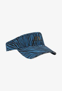 YADEN PRINT VISOR TECH STRETCH - Cap - blue