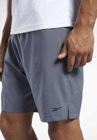 Reebok - WORKOUT READY SHORTS - Sports shorts - grey - 2