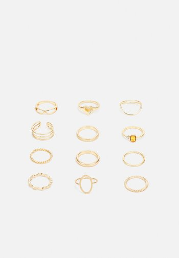 VIVIAN 12 PACK - Ring - gold-coloured