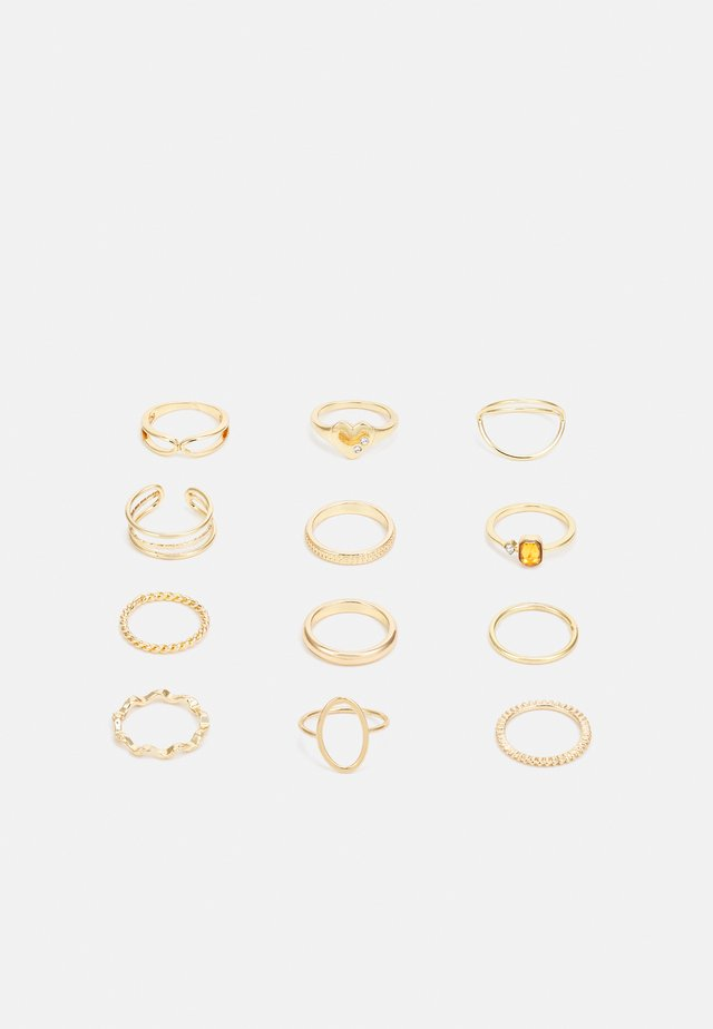 VIVIAN 12 PACK - Bague - gold-coloured