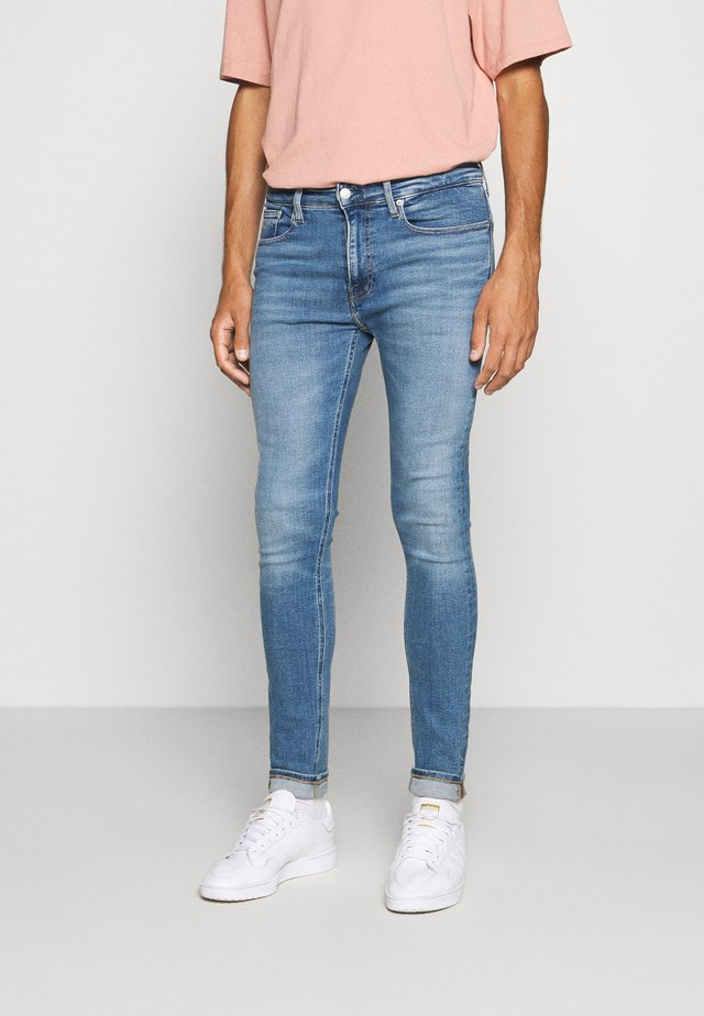 SUPER SKINNY - Jeans Skinny Fit - blue denim