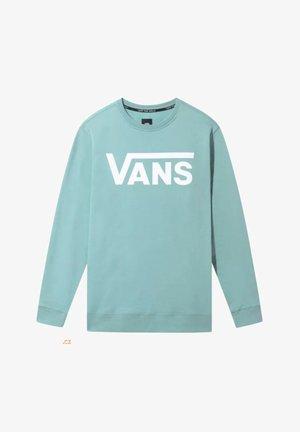 MN VANS CLASSIC CREW II - Sweatshirt - blue