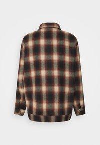 Mennace - FLECK CHECK  - Summer jacket - red/navy/ecru - 1
