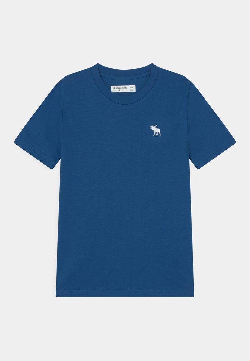 Abercrombie & Fitch - BASICS - Basic T-shirt - blue